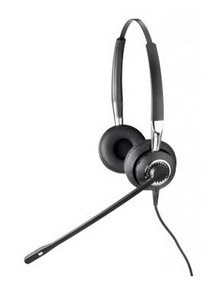 Jabra BIZ 2400 Binaural Noise Canceling telephony headset