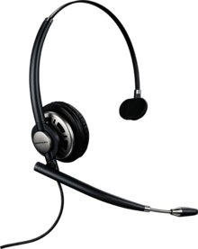 Plantronics HW710 EncorePro Over-The-Head Wideband Monaural Noise-Cancelling Headset